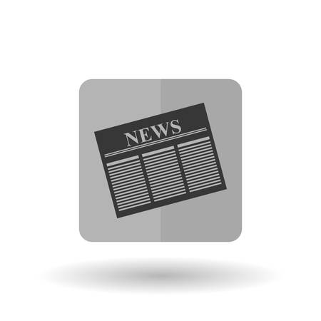 newspaper stack: News concept with icon design, vector illustration 10 eps graphic.