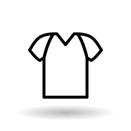 simple store: tshirt concept with icon design, vector illustration 10 eps graphic.