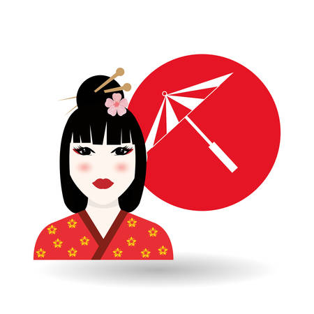 dynasty: chinese culture concept with icon design, vector illustration 10 eps graphic. Illustration