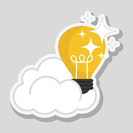 technology symbols metaphors: Solutions concept with icon design, vector illustration 10 eps graphic.