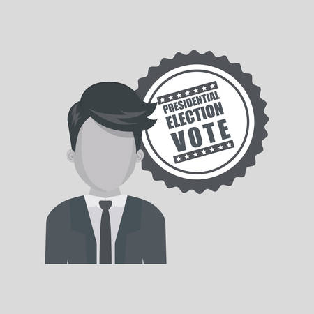 celebrities: vote concept with icon design, vector illustration 10 eps graphic. Illustration