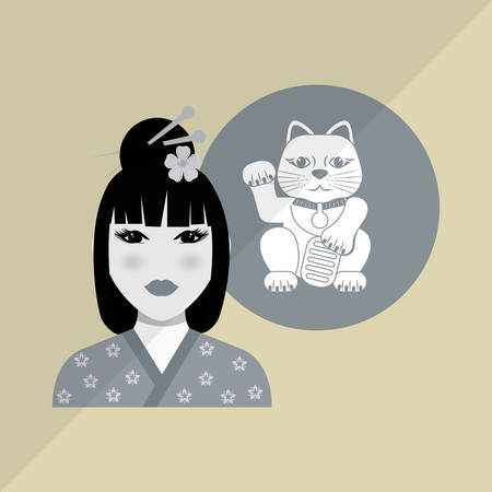beijing: chinese culture concept with icon design, vector illustration 10 eps graphic. Illustration