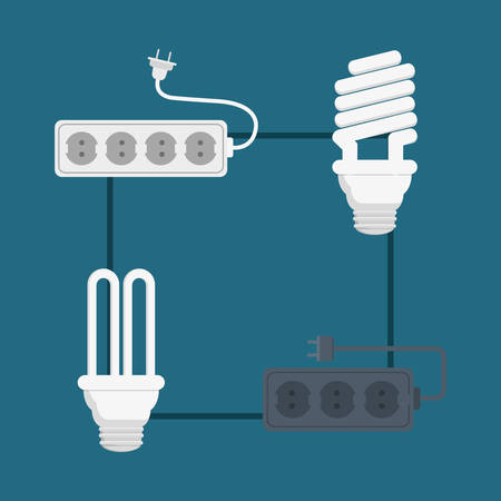 electrical engineer: electric concept with icon design, vector illustration 10 eps graphic.