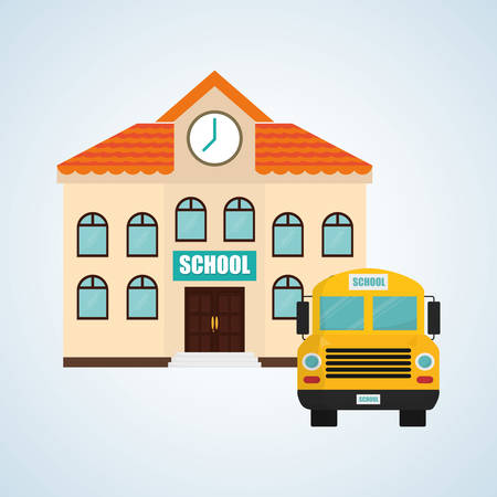 school class: back to school concept with icon design, vector illustration 10 eps graphic.