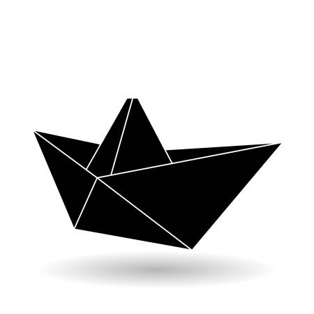 automotive industry: Origami concept with icon design, vector illustration 10 eps graphic.