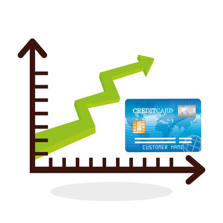 fund world: Global economy concept with icon design, vector illustration 10 eps graphic.