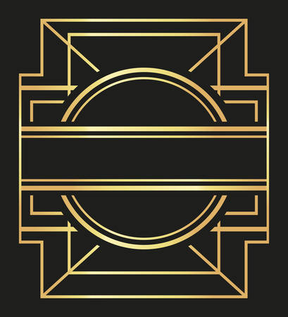 angular: Gatsby concept with icon design, vector illustration 10 eps graphic.