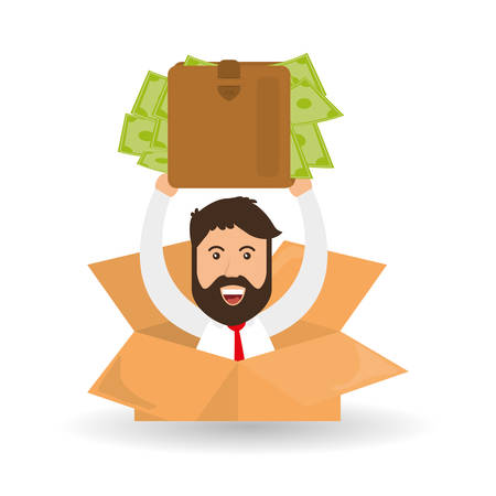 money concept: Money concept with icon design, vector illustration 10 eps graphic.