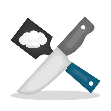 turner: Chef concept with icon design, vector illustration 10 eps graphic. Illustration