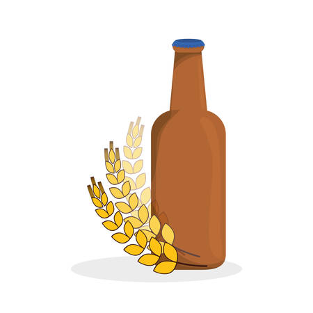 Beer concept with icon design, vector illustration 10 eps graphic.