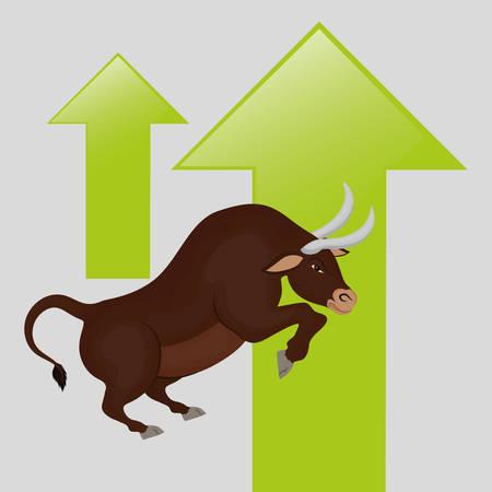 profitability: Profit concept with icon design, vector illustration 10 eps graphic.