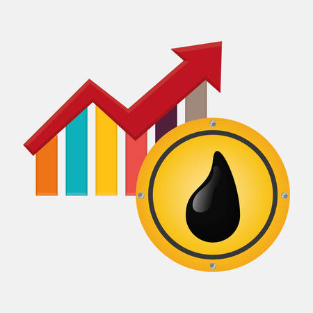 petrochemical: Petroleum concept with icon design, vector illustration 10 eps graphic.