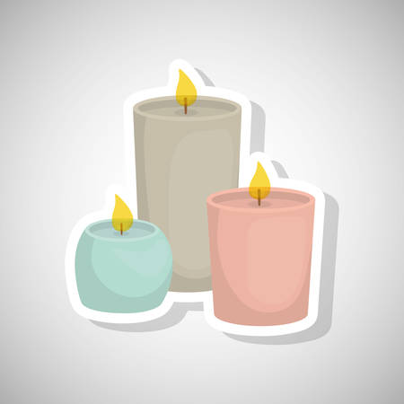 Spa center concept with icon design, vector illustration 10 eps graphic.