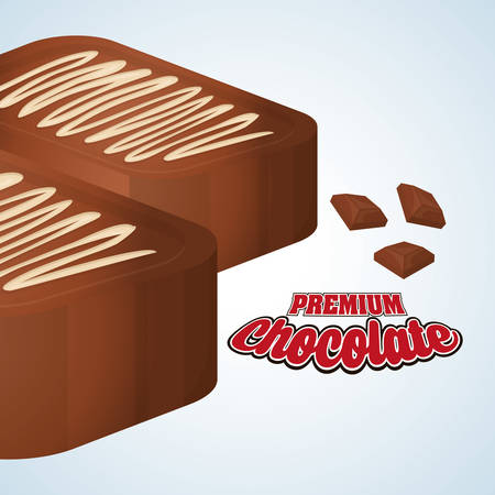 truffle: Chocolate concept with icon design, vector illustration 10 eps graphic.