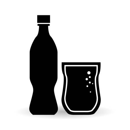 tonic: Soda concept with icon design, vector illustration 10 eps graphic.