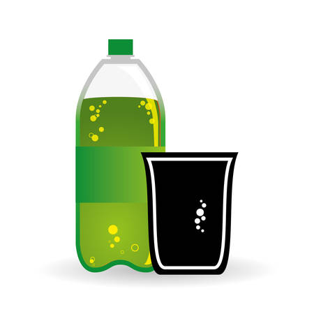 fizzy: Soda concept with icon design, vector illustration 10 eps graphic.