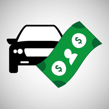 image consultant: Car sale  concept with icon design, vector illustration 10 eps graphic.