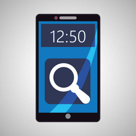 smartphone concept with icon design, vector illustration 10 eps graphic. Illustration