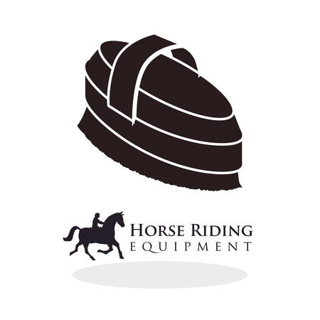 ridding: Horse ridding concept with icon design, vector illustration  graphic.