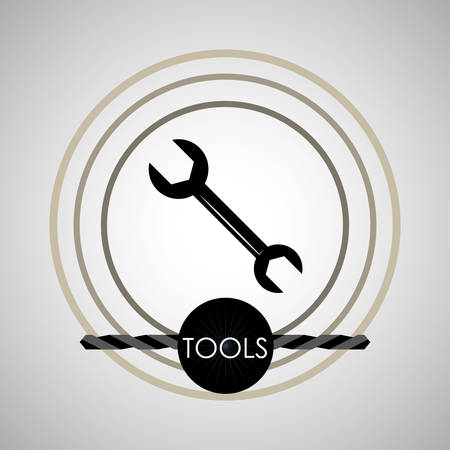 reconstruction: Tool  concept with icon design, vector illustration 10 eps graphic.