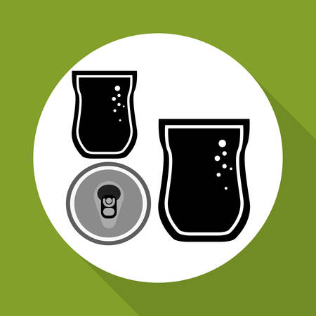 soda splash: Soda concept with icon design, vector illustration 10 eps graphic.