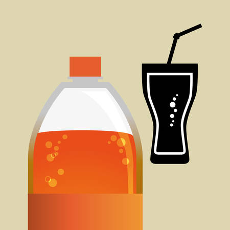 fizz: Soda concept with icon design, vector illustration 10 eps graphic.