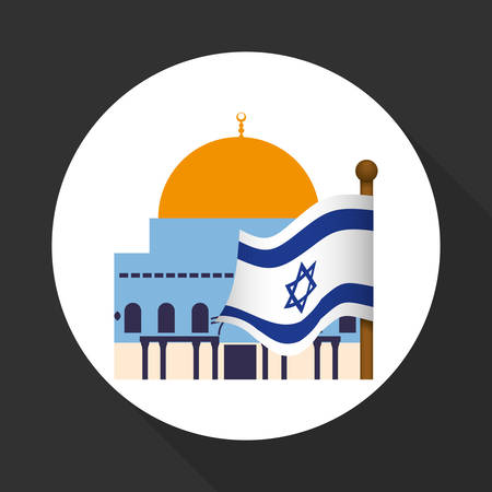 israel people: Israel concept with icon design, vector illustration 10 eps graphic. Illustration