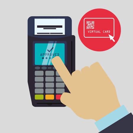 registros contables: concepto de factura con el diseño de iconos, ilustración vectorial eps 10 gráfico.
