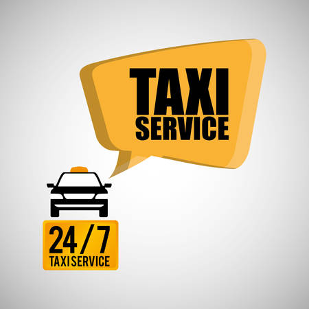 avenue: Taxi  concept with icon design, vector illustration 10 eps graphic.