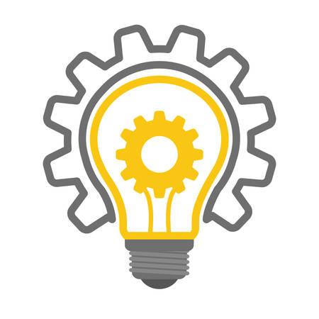 Innover notion avec l'icône de conception, illustration vectorielle graphique.