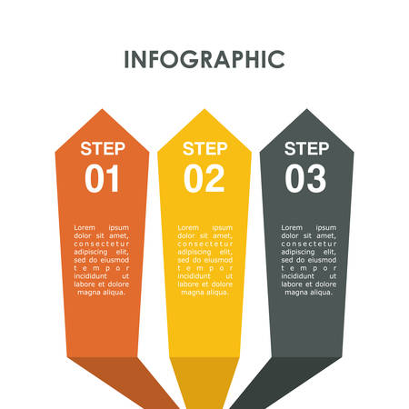 demographics: Infographic concept with icon design, vector illustration 10 eps graphic.