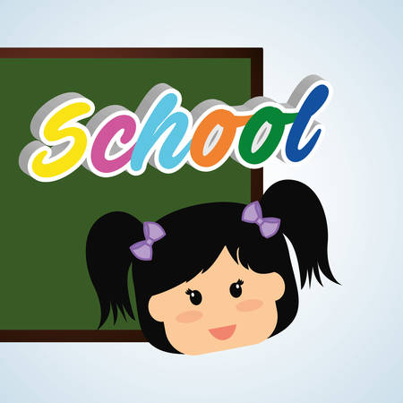 interacting: Education concept with icon design, vector illustration 10 eps graphic.