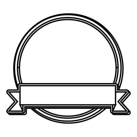stamp seal: label represented by seal stamp icon over flat and isolated design