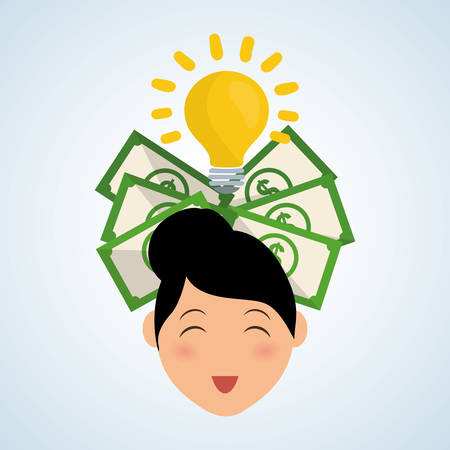 save money: Save Money concept with icon design, vector illustration 10 eps graphic.