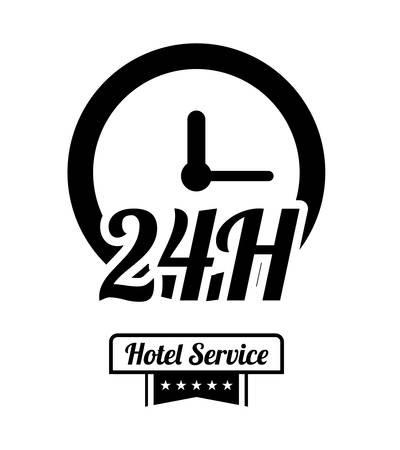 foreigner: Hotel service icon graphic design