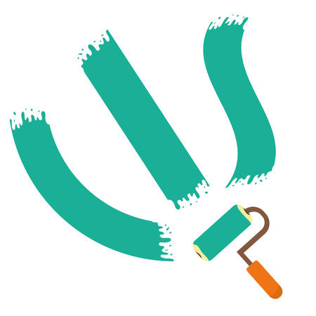 carpentry cartoon: Tools design over white background, vector illustration.