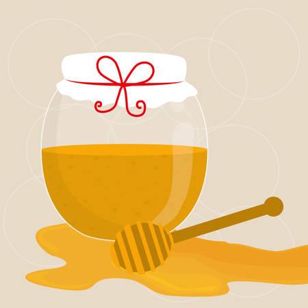 nectars: Honey digital design, vector illustration eps 10.