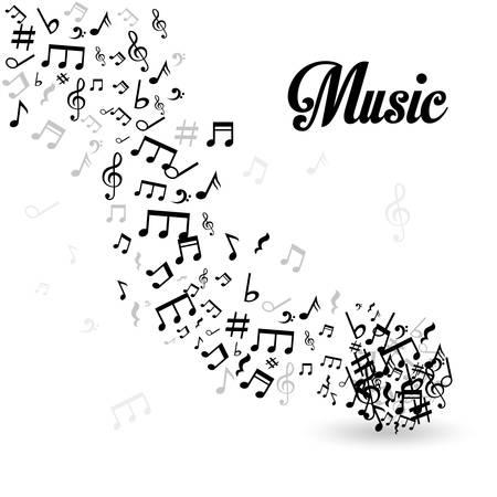 composition art: Music digital design, vector illustration eps 10. Illustration