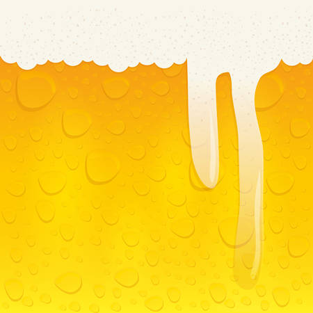 froth: beer beverage concept represented by froth background icon over isolated and flat background Illustration
