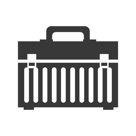tool kit: Tool concept represented by tool kit icon. isolated and flat illustration