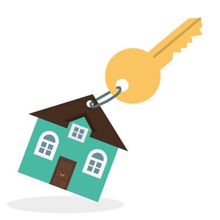 residential home: Home digital design, vector illustration eps 10. Illustration