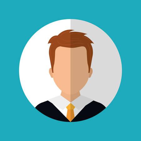 in profile: People profile graphic design Illustration