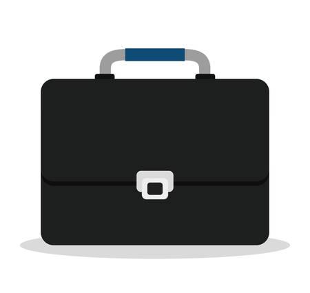 business briefcase: Business briefcase icon graphic design