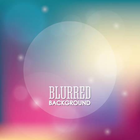 Blurre background graphic design Vetores