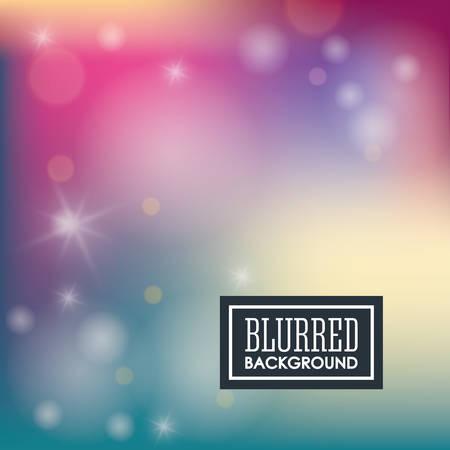 Blurred background graphic design, vector illustration Vetores