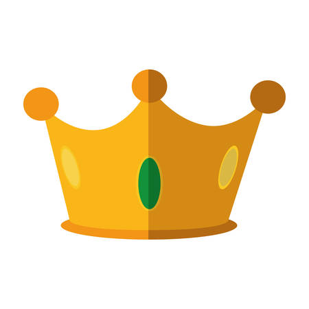 royalty: Royalty concept represented by crown icon. isolated and flat illustration