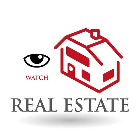 real estate concept: Real Estate concept with icon design