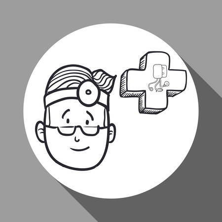 presure: Medical care concept with icon design