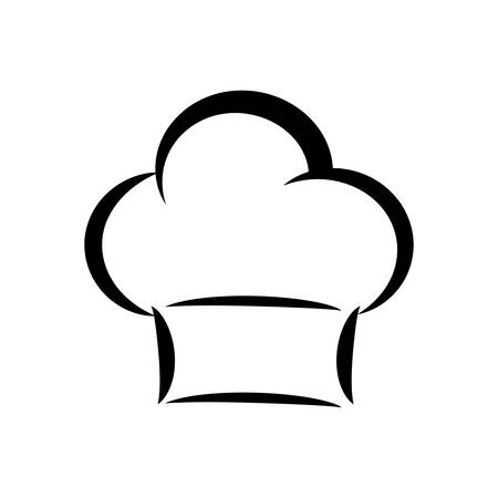 preparing: Kitchen and menu concept represented by chefs hat icon. isolated and flat illustration Illustration