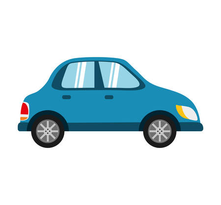 represented: Transportation concept represented by car icon. isolated and flat illustration